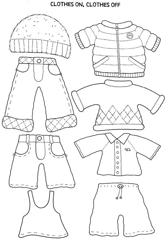 Paper Doll and Clothes
