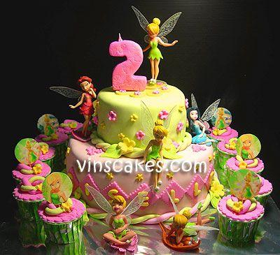 Vin S Cakes Birthday Cake Cupcake Wedding Cupcake Bandung Jakarta Online Cakes Shop 2 Tiers Tinkerbell For Tinkerbell Cake Barbie Doll Cakes Doll Cake