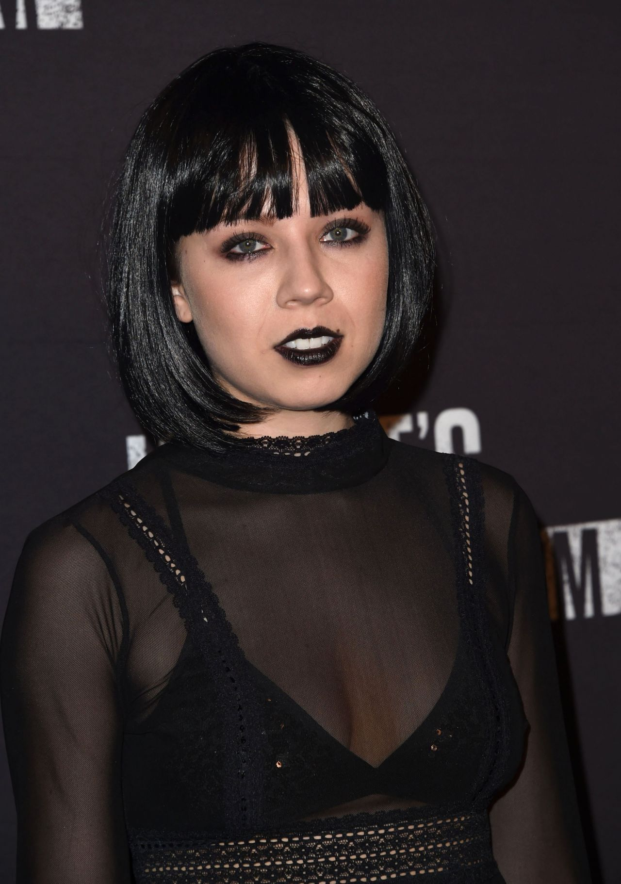 Jennette McCurdy Knotts Scary Farm Opening Night in Buena Park CA