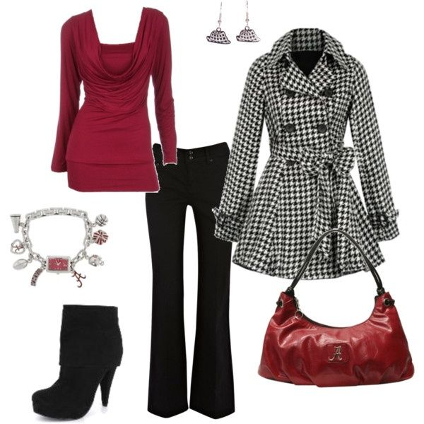 Top 14 Red Work Outfit Designs – Happy Christmas & New Year Famous Fashion - Homemade Ideas (12)