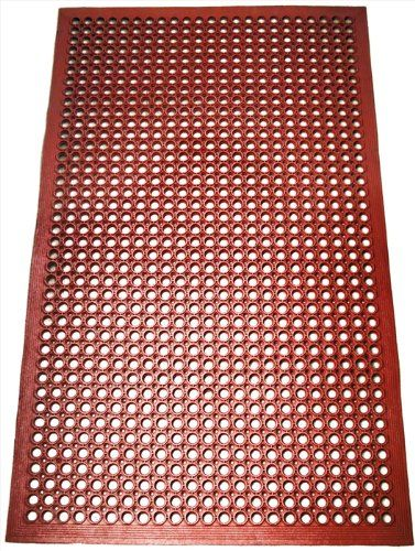 Best Kictchen Rugs New Star 1 Pc Heavy Duty Red 36x60 Inch Restaurant Bar Grease Res Kitchen Accessories Decor Kitchen Accessories Storage Rubber Floor Mats