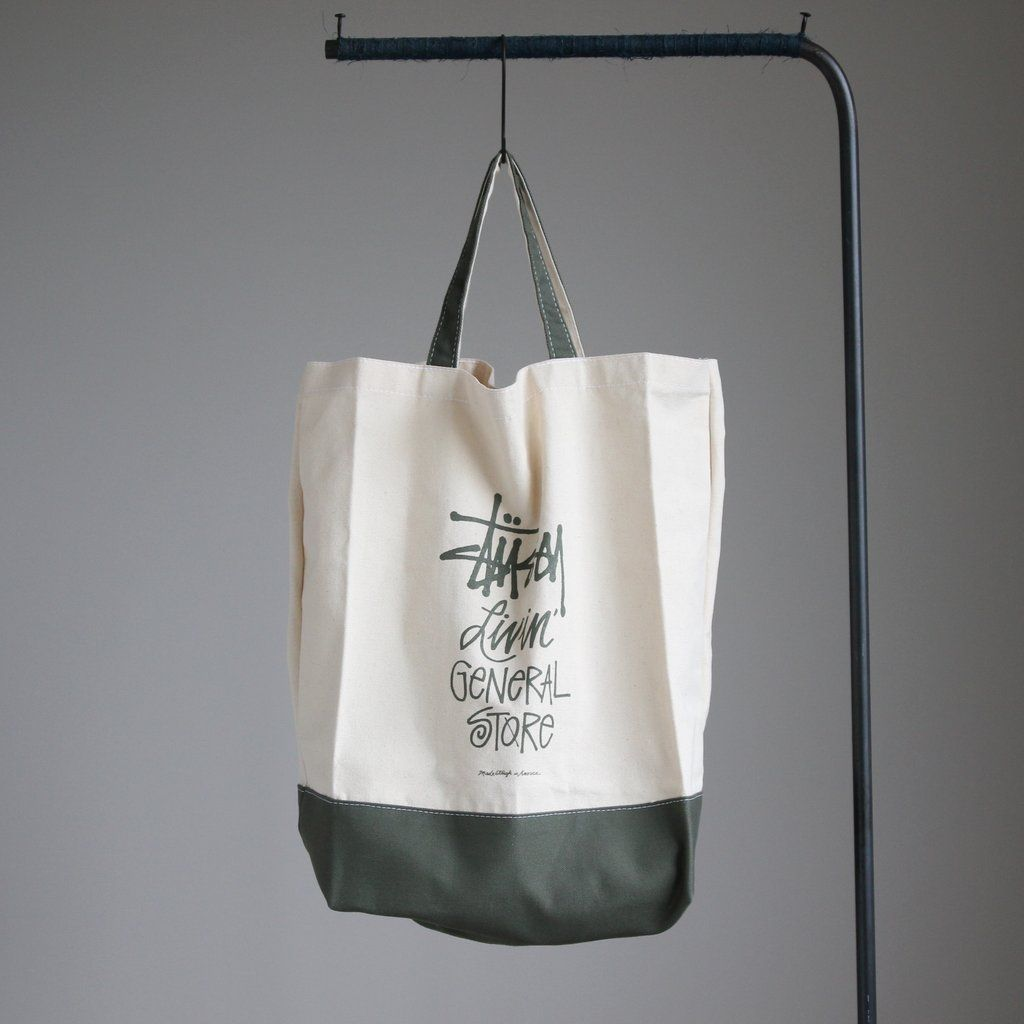 GS 2Way Tote Bag Basic Stock #natural×sage