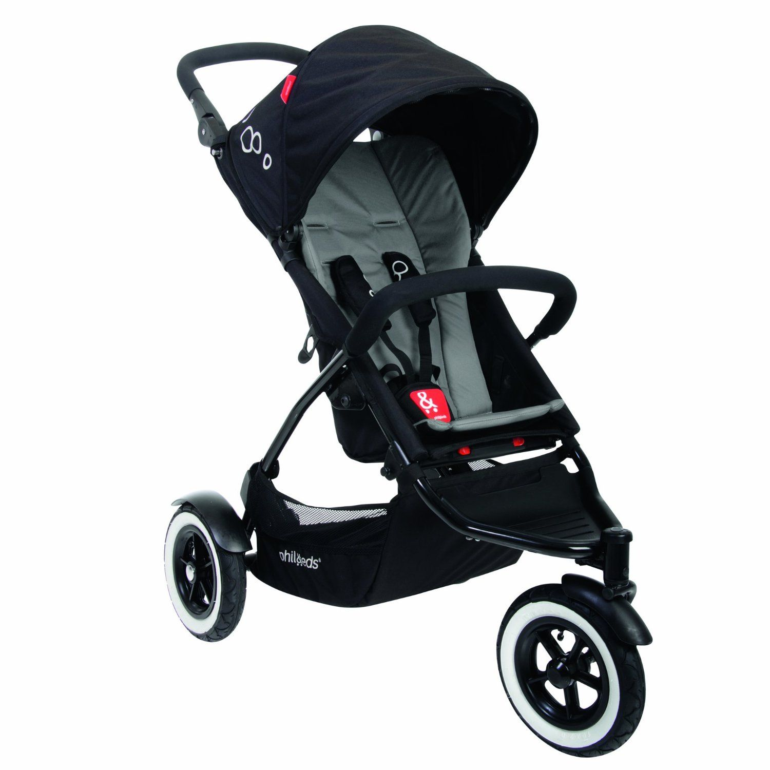 Amazon.com : phil&teds Dot Buggy Stroller, Flint : Infant Car Seat Stroller Travel Systems : Baby