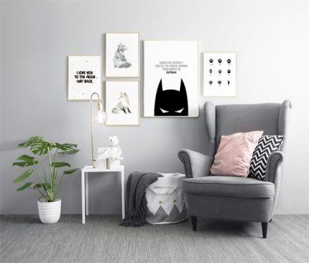 Dekorieren Sie das Kinderzimmer mit Postern von wwwdeseniode - deko schwarz wei wohnzimmer