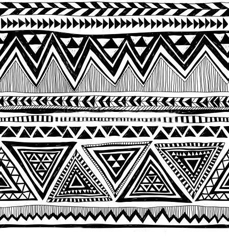 7a22fddc4f481 Texture created though line work | surface pattern design Aztec Pattern  Wallpaper, Tribal Print Pattern