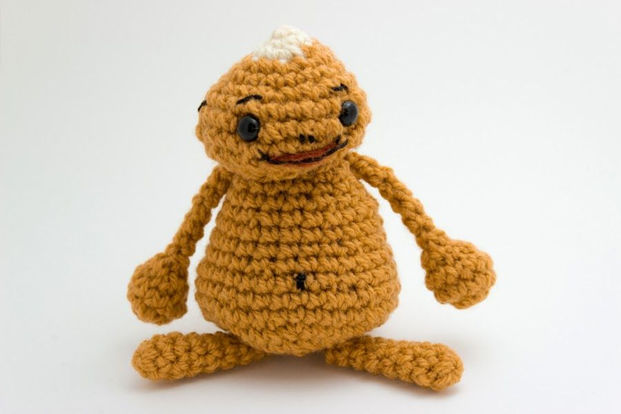 Amigurumi Zelda Pattern : Goron from legend of zelda crochet awesomeness
