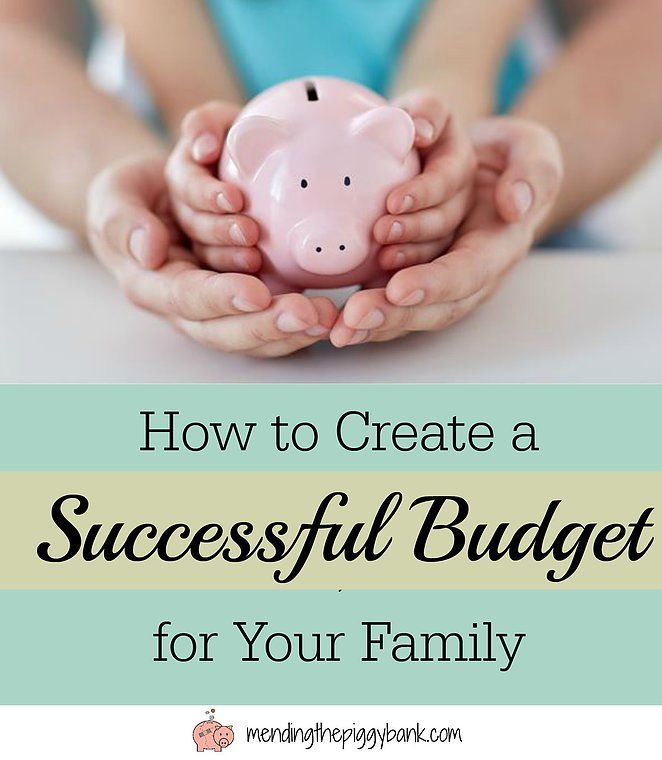 Mending the Piggy Bank How to Create a Successful Budget for Your