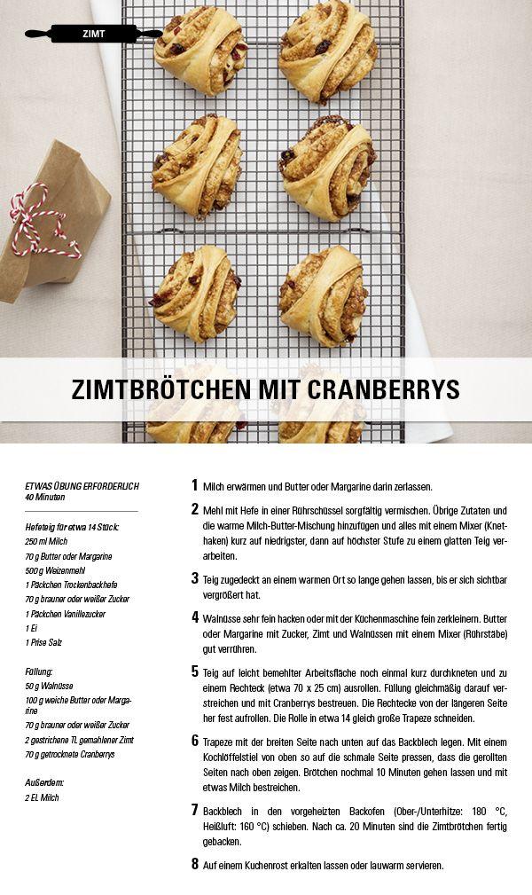 Rezept Zimtbrotchen Mit Cranberrys Besuche Jetzt Die Gewurzwelt Von Juzo Kompressionsstrumpfe Fur Jeden Geschmack Zimtbrot Teig Hefeteig