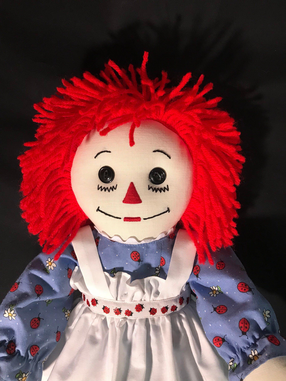 Handmade Raggedy Ann Doll 20