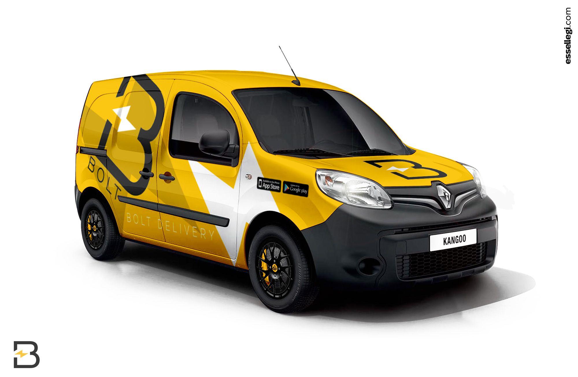 Renault Kangoo | Van Wrap Design by Essellegi. Van Signs, Van ...