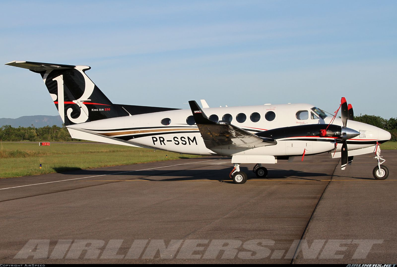 Hawker Beechcraft 250 King Air aircraft picture Private