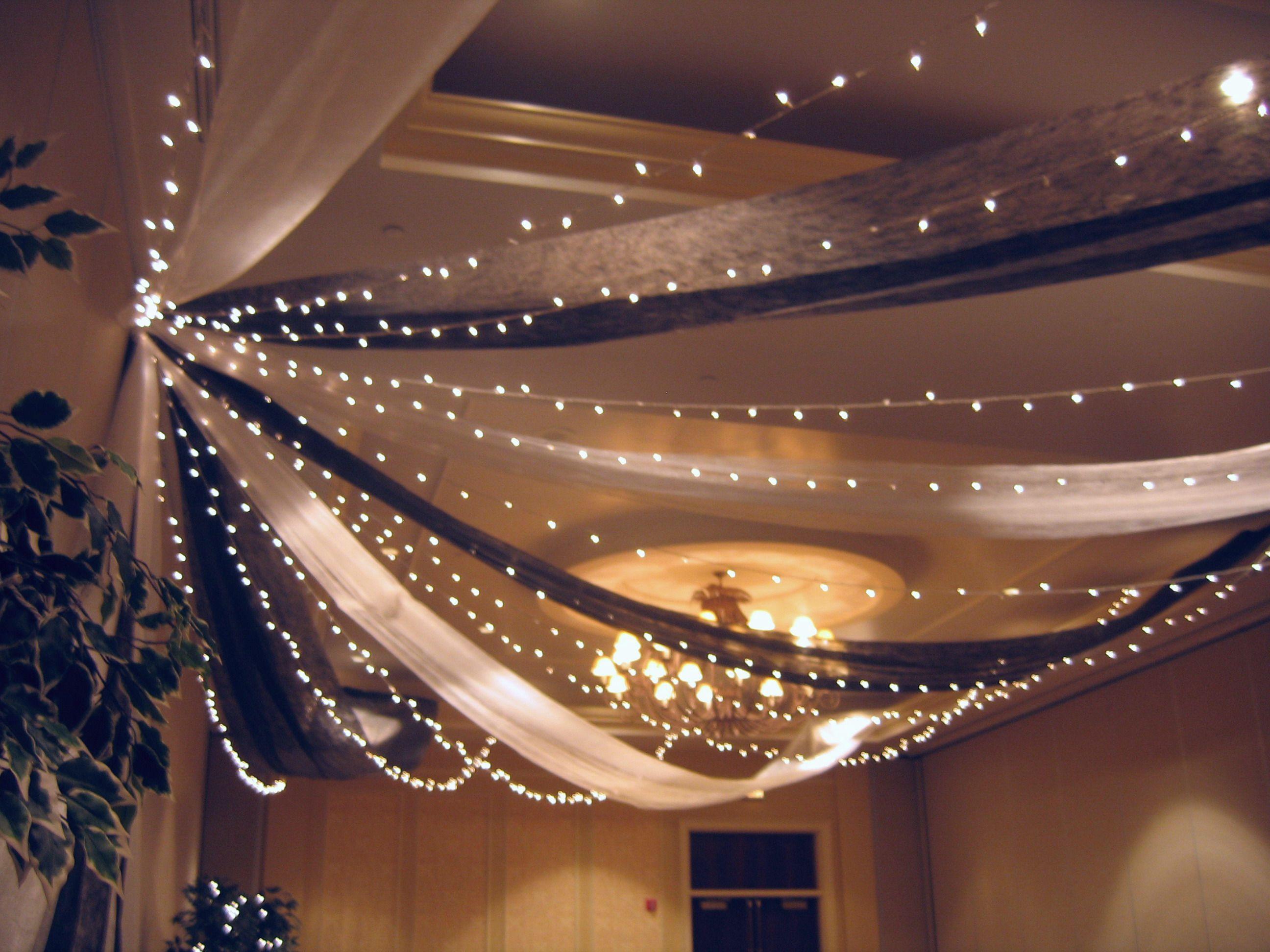 antlers hilton hotel white gossamer, black gossamer, white twinkle