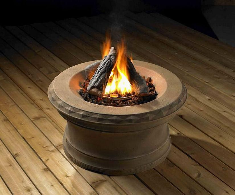 Mini Gas Fire Pit Gas Firepit Fire Pit Essentials Outdoor Propane Fire Pit