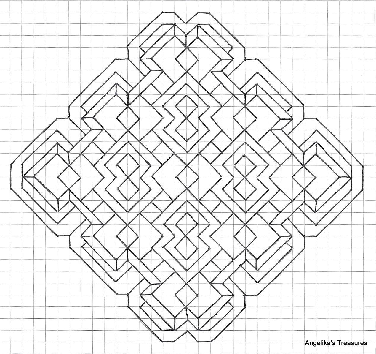 Graph Paper Art Angelika S Treasures Own Design Nog