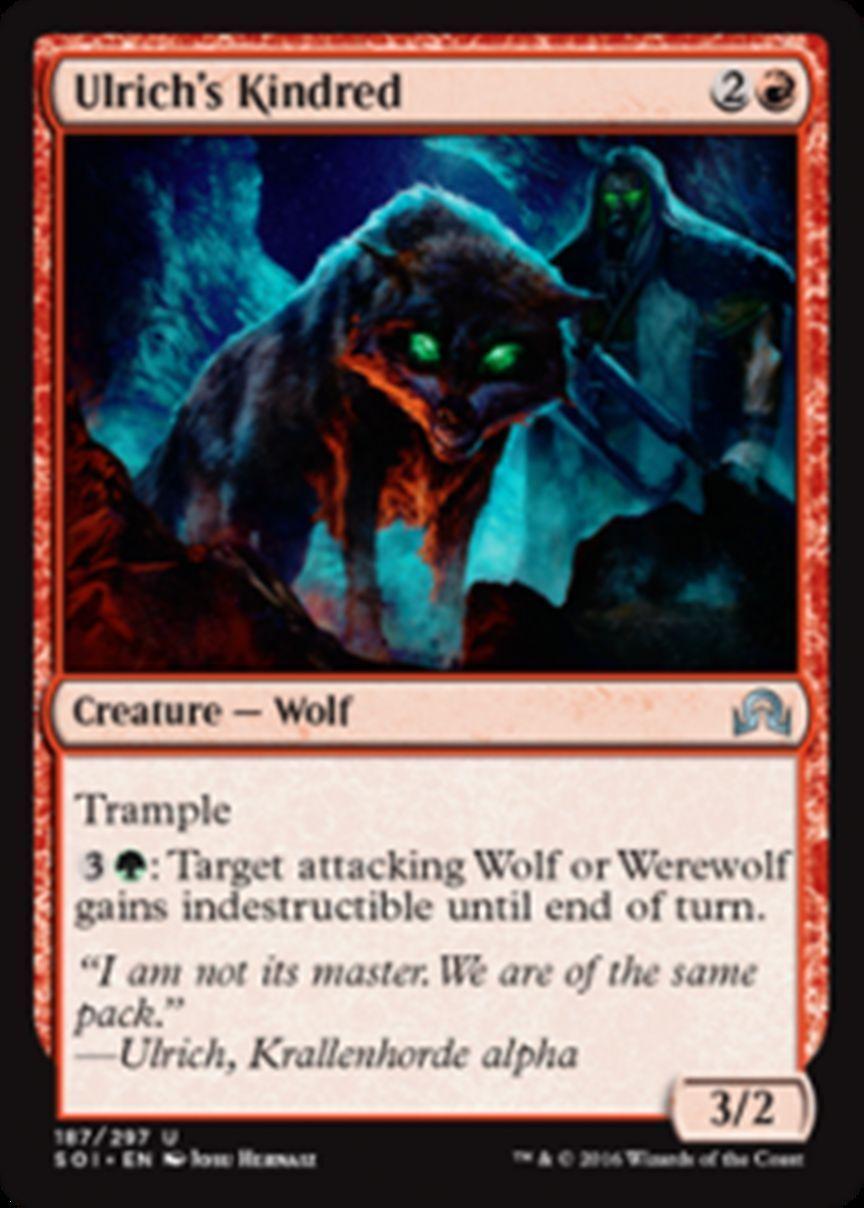Standard Werewolves (Standard MTG Deck)