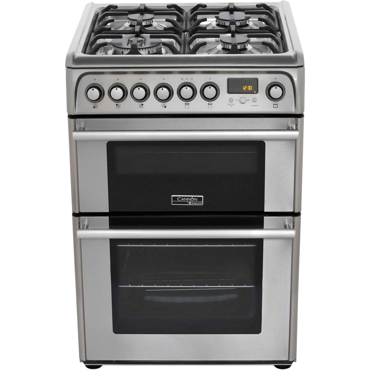 Medium image of cannon dual fuel cooker   ch60dpxfs   100 litres   ao com