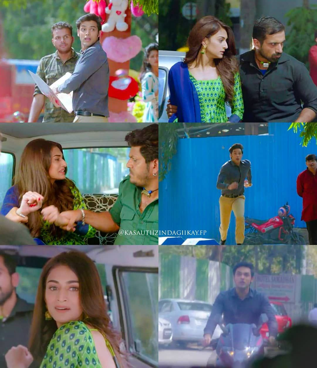 Prerna is kidnapped & anurag i$ trying to save prerna_____ by