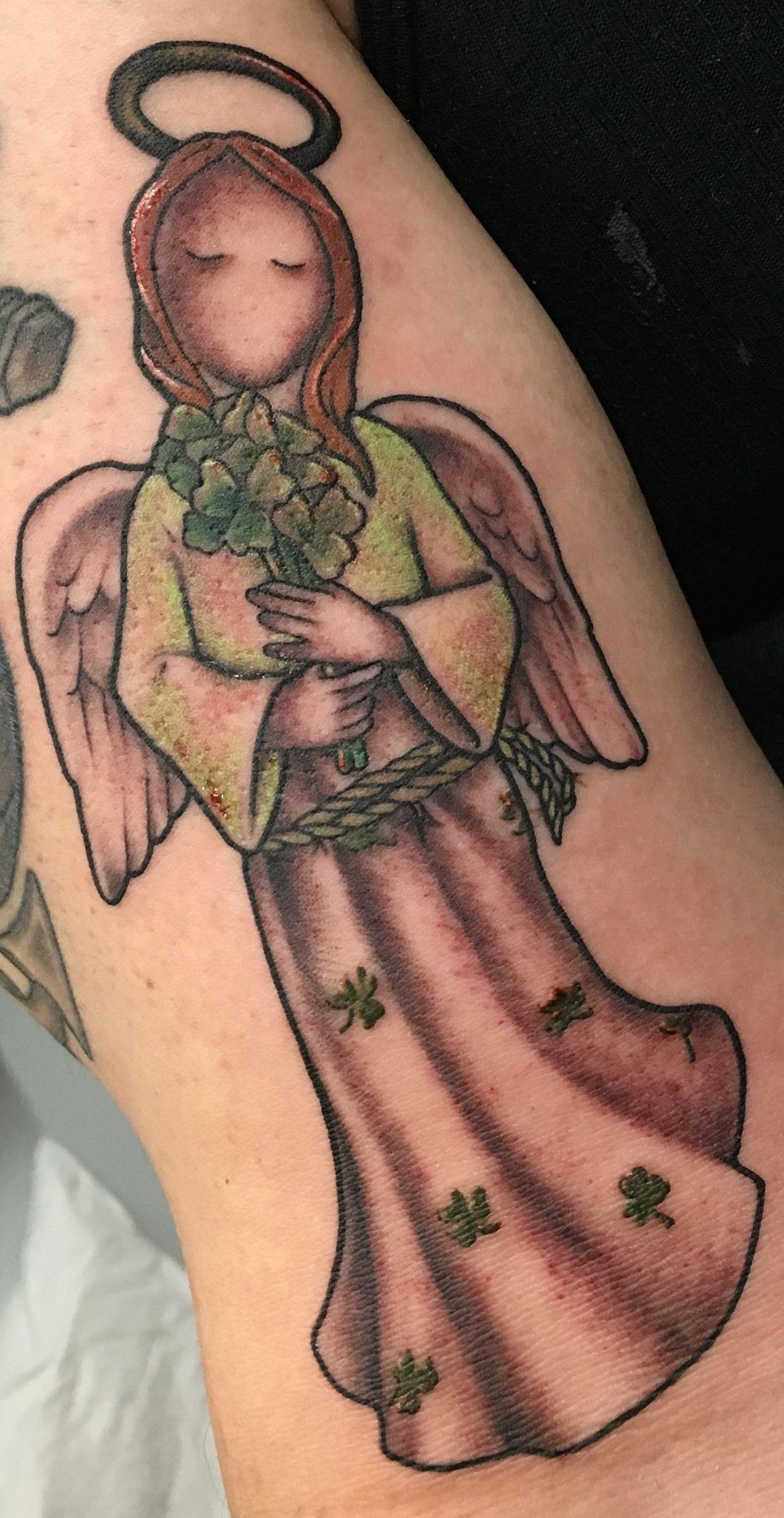 Irish Angel tattoo Various Tattoo Designs Tattoo