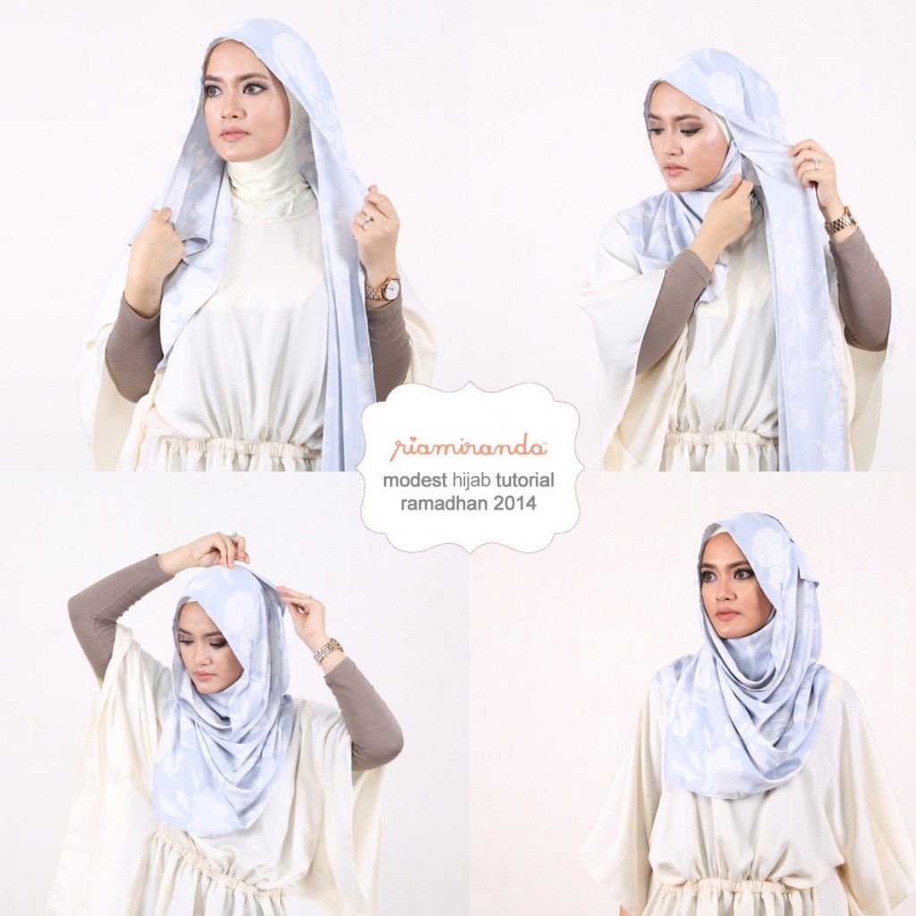 HIJAB TUTORIAL: RIA MIRANDA | Galeries Lafayette Jakarta  Check out our hijab tutorial http://www.lissomecollection.co.uk