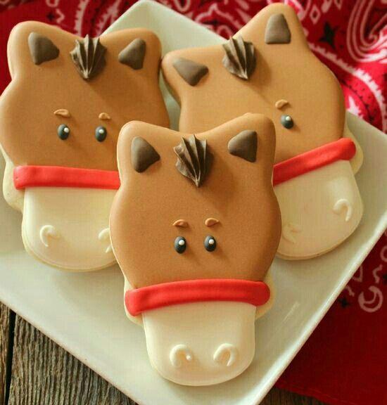 Lindas galletitas d caballo!!! :D
