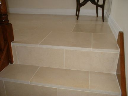 Tiling Stairs And Steps. Tiling Tips And Pictures From A Professional