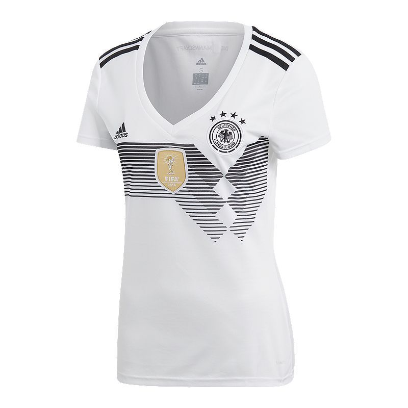 Adidas Germany Women S 2018 Home Replica Soccer Jersey Adidas Women Womens Shirts Soccer Jersey