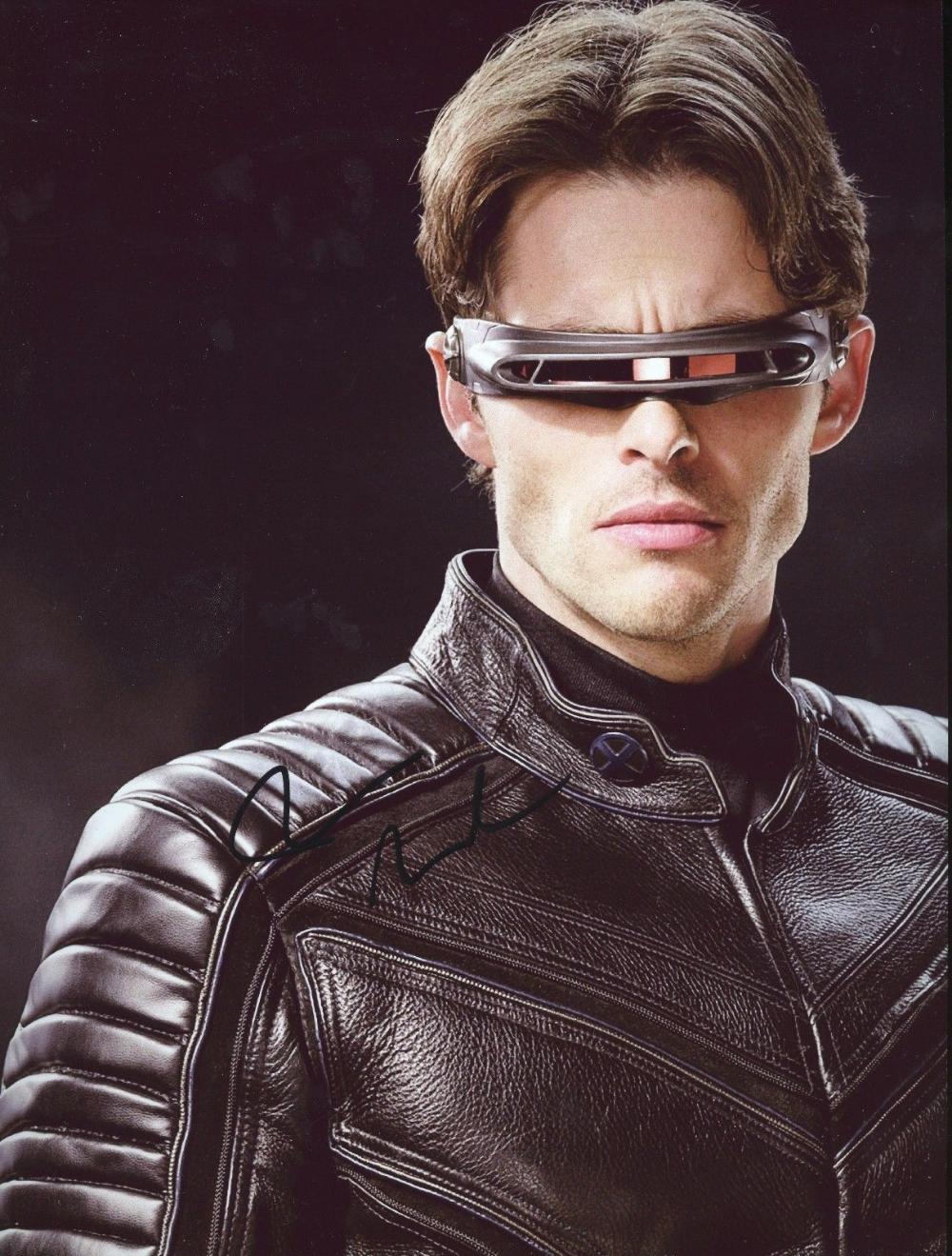 James Marsden Authentic Hand Signed Cyclops X Men 8 10 Photo 726 Cyclops X Men X Men Superhero
