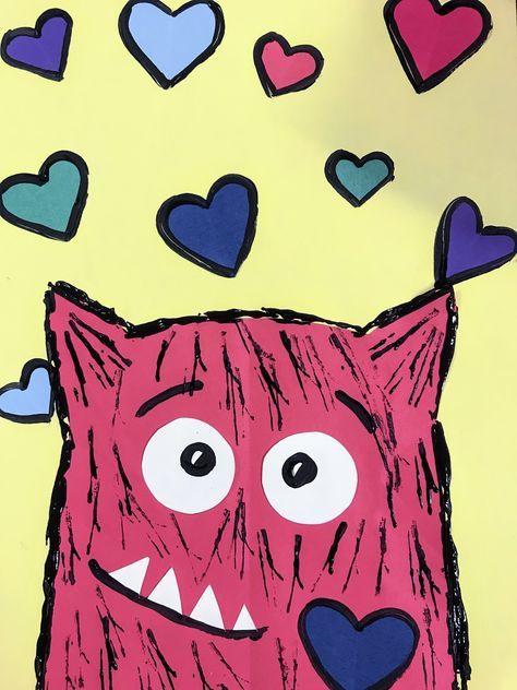 1st grade Love Monsters