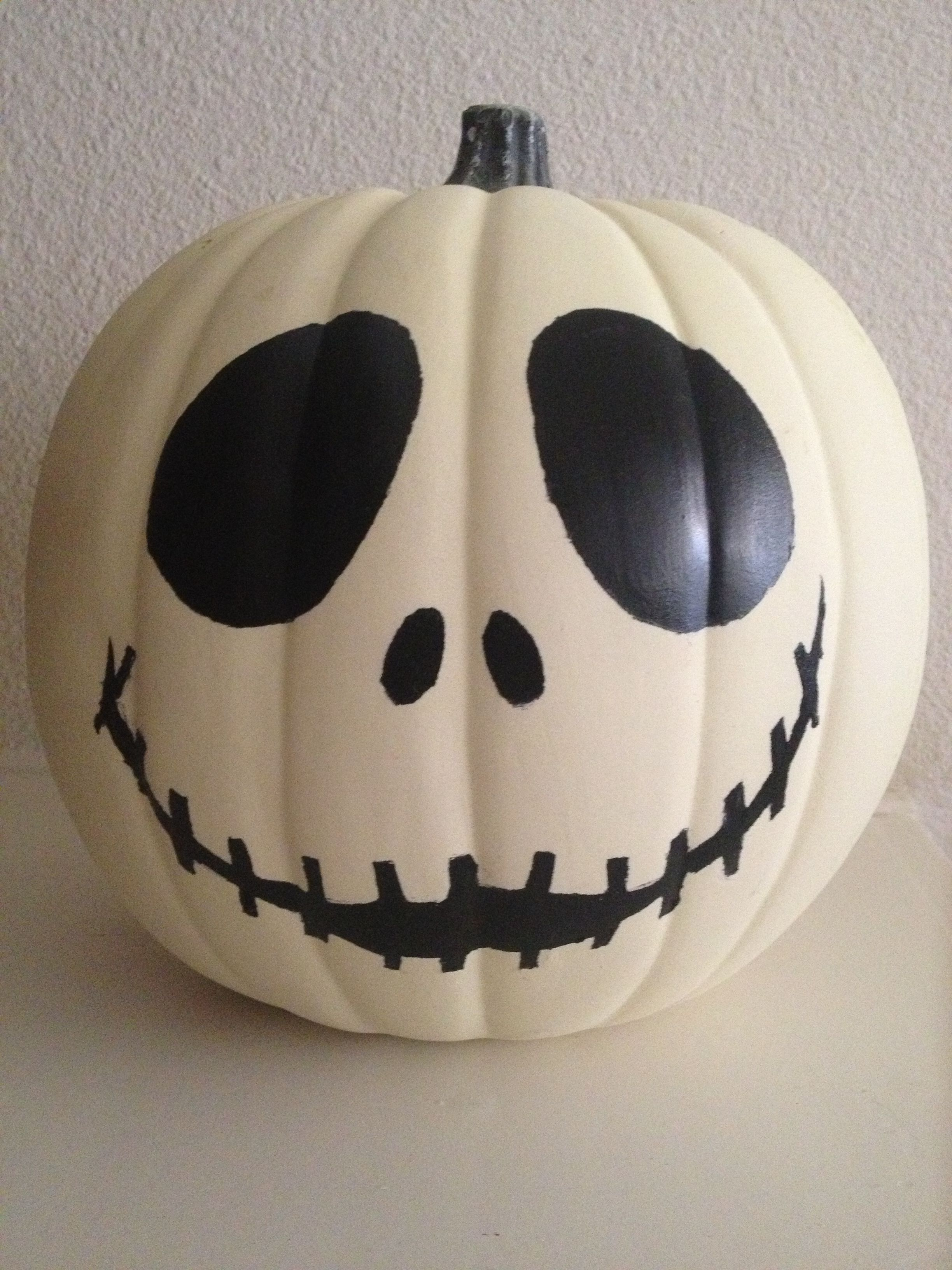 Jack Skellington glowinthedark pumpkin. Disney