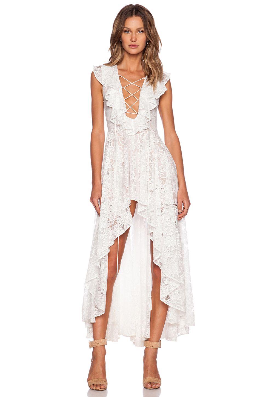 The dress garden - The Jetset Diaries X Revolve Secret Garden Dress In White