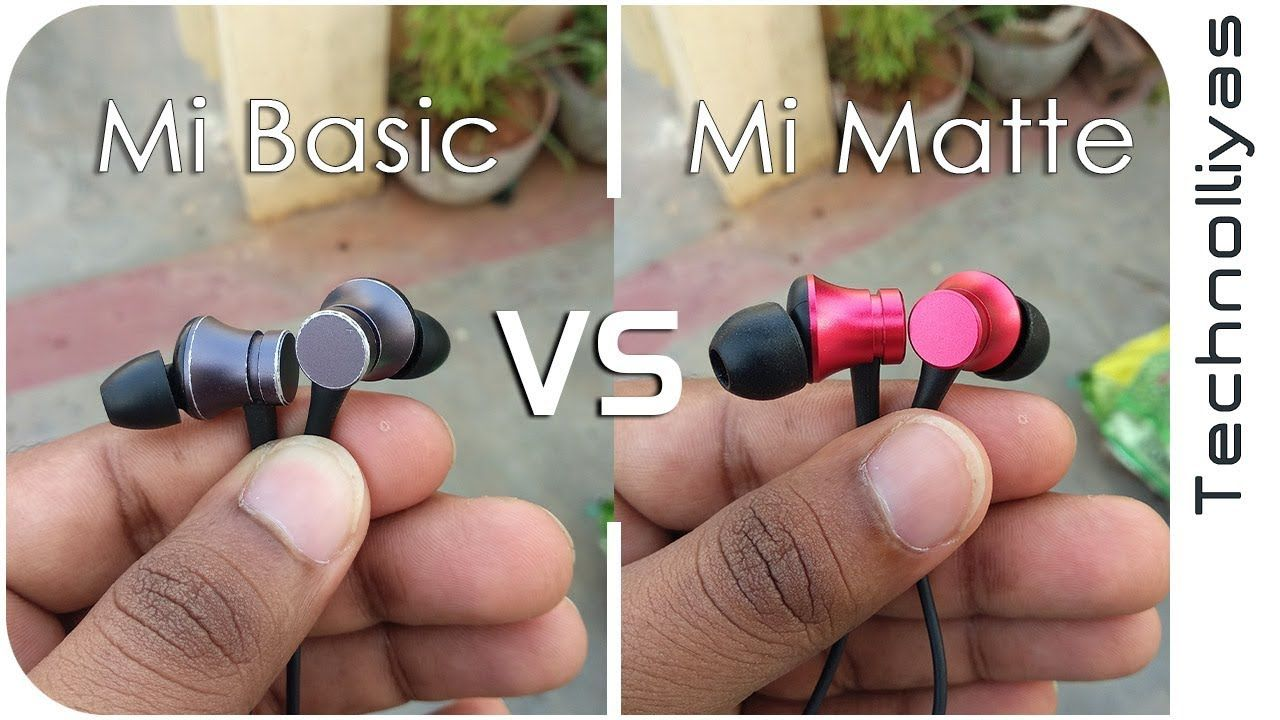 27d8b241631b69 Mi Earphone Basic VS Mi Earphone Matte Comparison - REVIEW ...