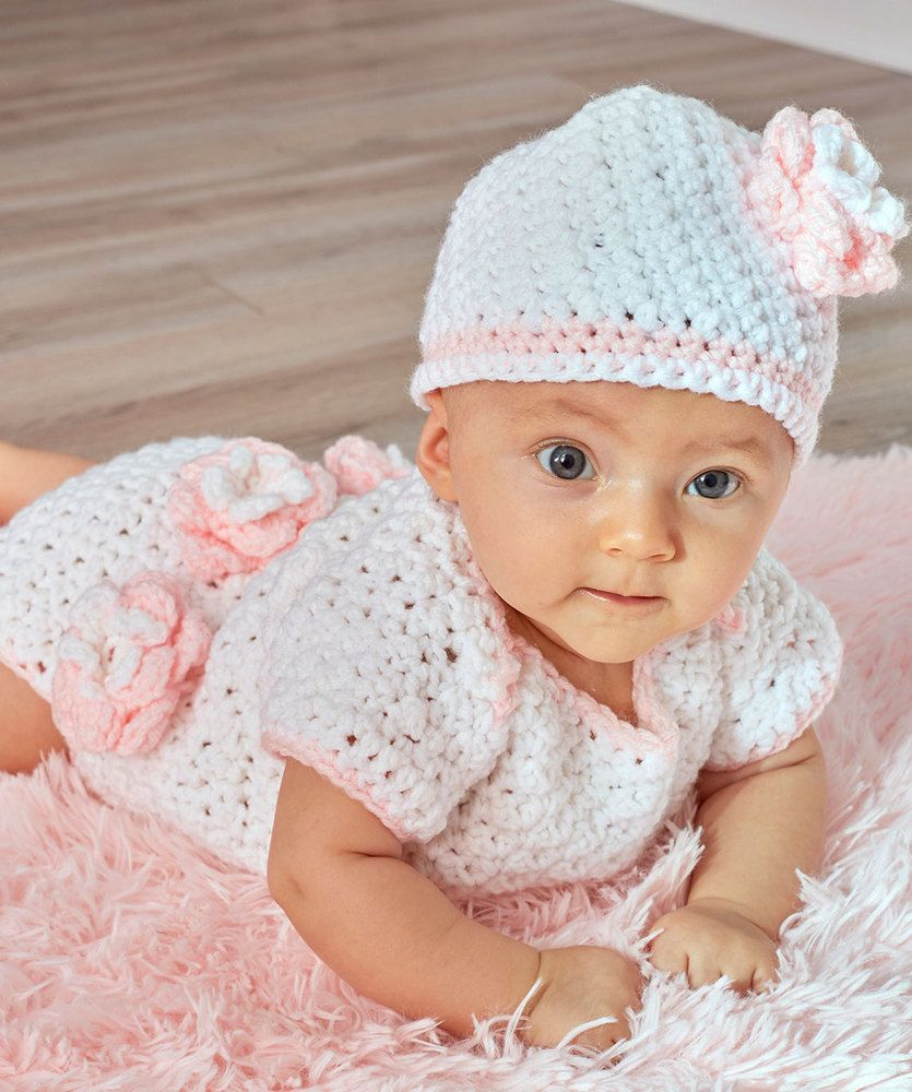Floral onesie hat free baby crochet pattern skill level floral onesie hat free baby crochet pattern skill level intermediate perfect for the bankloansurffo Choice Image