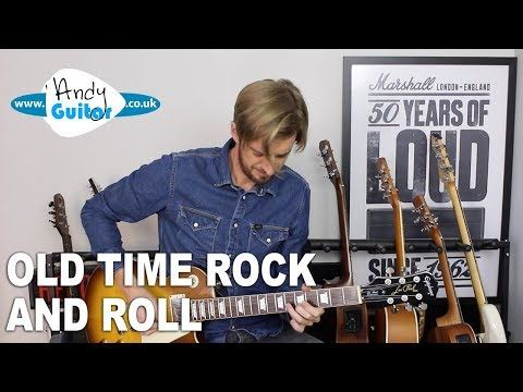 1 How To Play Old Time Rock And Roll Rhythm And Lead Guitar