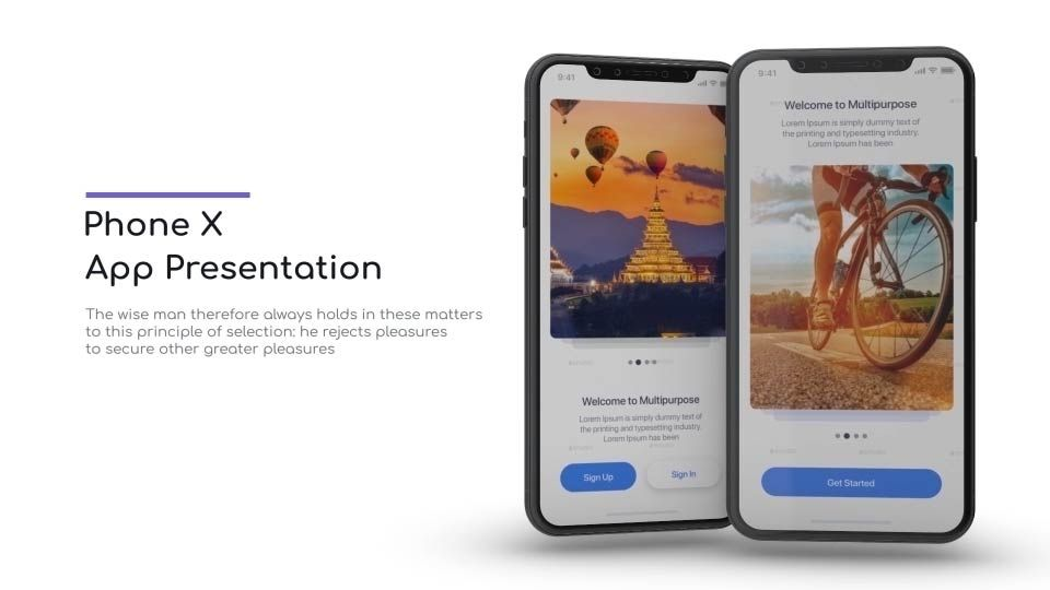 phone x app promo design references pinterest app