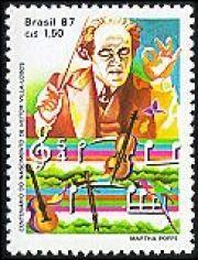 Centenário do nascimento de Heitor Villa-Lobos