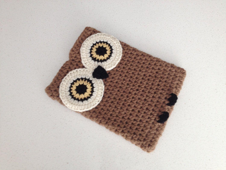 Crochet Owl Ipad Case By Peanutbutterdynamite On Etsy