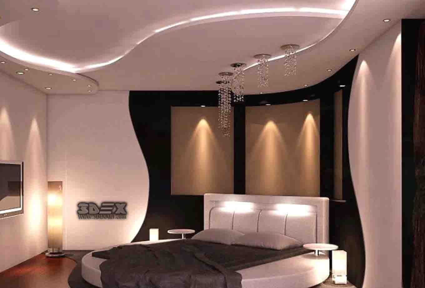LatestPOPdesignforbedroomnewfalseceilingdesignsideas - Latest fall ceiling designs for bedrooms