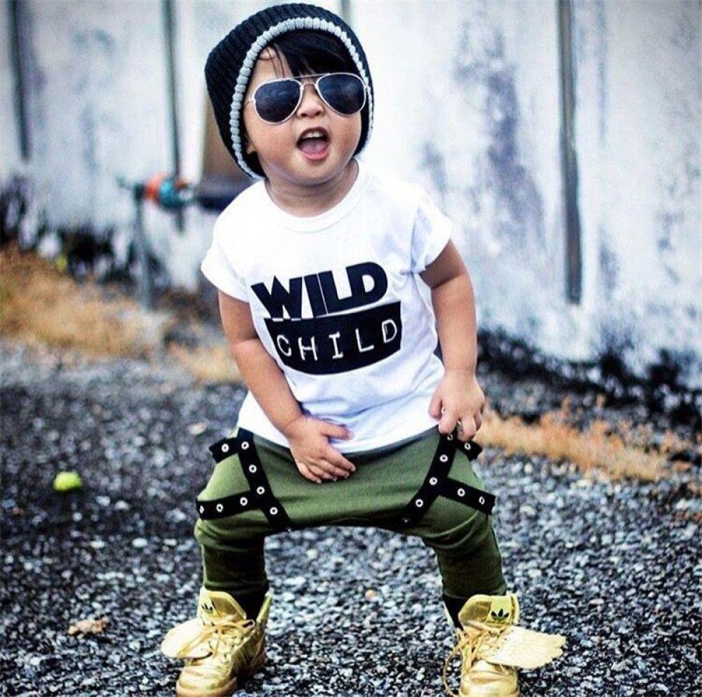 Wild Boy Toddler Set Long pants