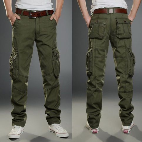 """Urban Camouflage Military Style Combat Cargo Utility Trousers 34/""""-38/"""" NEW"""