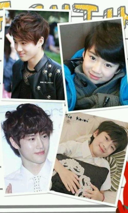 Suho As A Child Suho Suho Exo Baby Photos