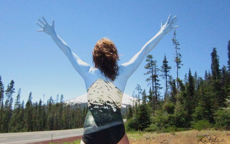 Photo of Tour Beautiful U.S. Landscapes Painted on Bare Bodies        Natalie Fletcher Bo…