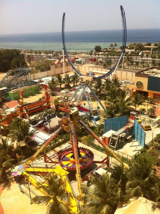 Attallah Happy Land Park Jeddah Park Fair Grounds