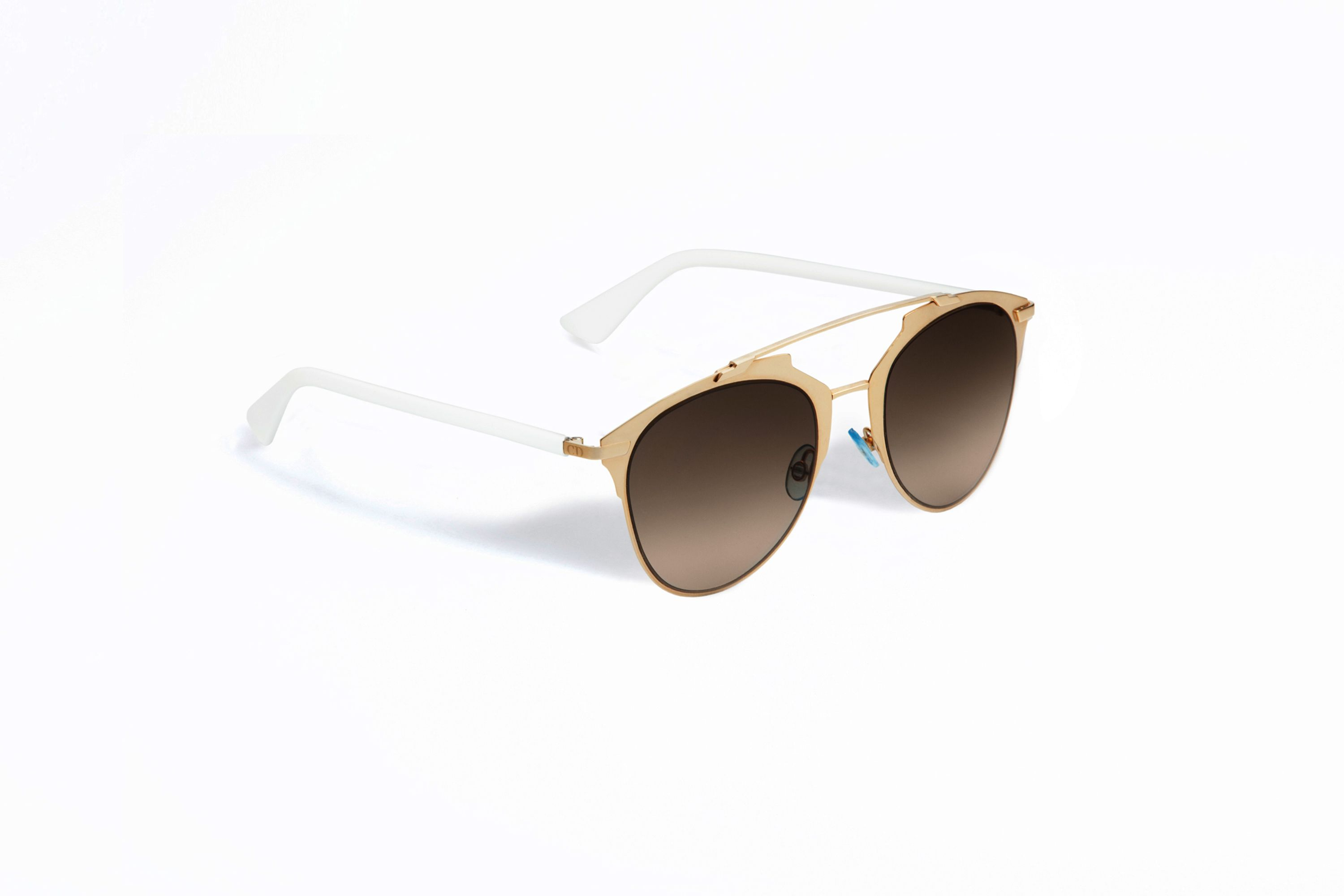 Dior Reflected gold and white sunglasses. Dior Reflected gold and white sunglasses  Lunette ... 75d9da644931