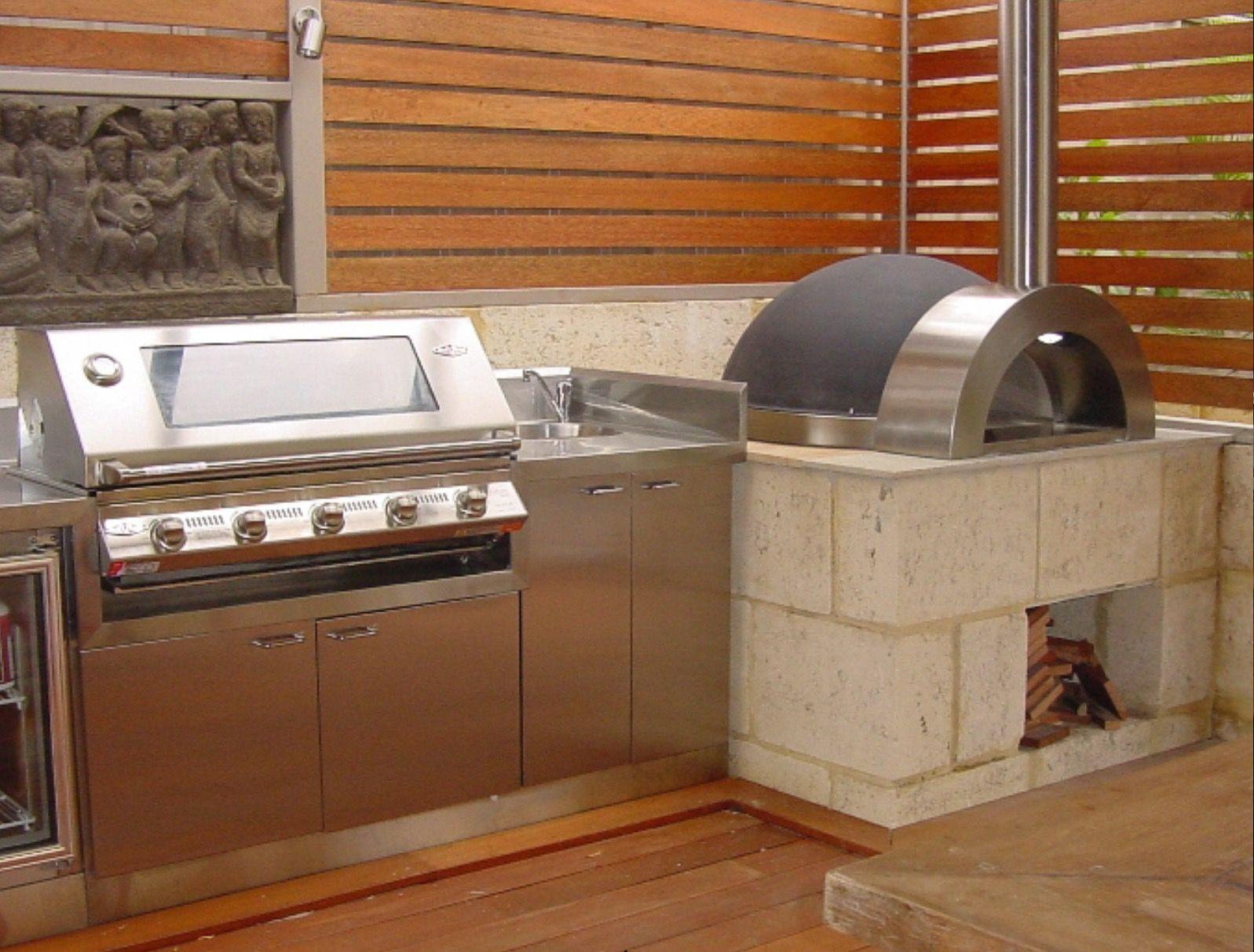 Asombroso Cocinas Modulares Para Exteriores Composición - Ideas de ...