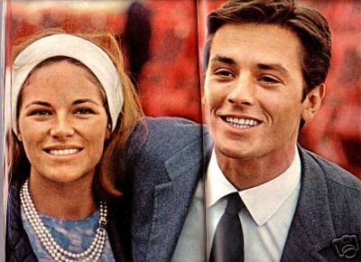 Alain Delon Nathalie Delon Alain Delon French Cinema Old Couples