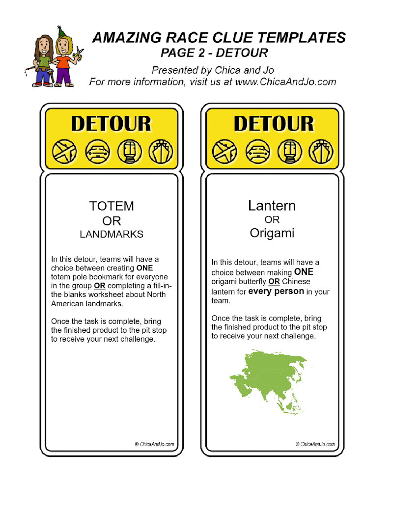 Amazing Race Game Cards Doc Google Drive Amazing Race Games Amazing Race Race Clues