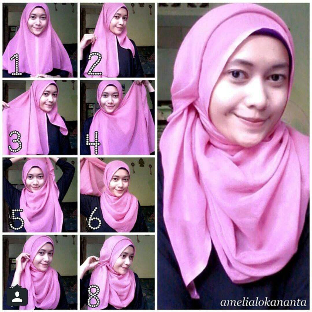 Pin By Gee Haa On HIJAB TUTORIAL Pinterest