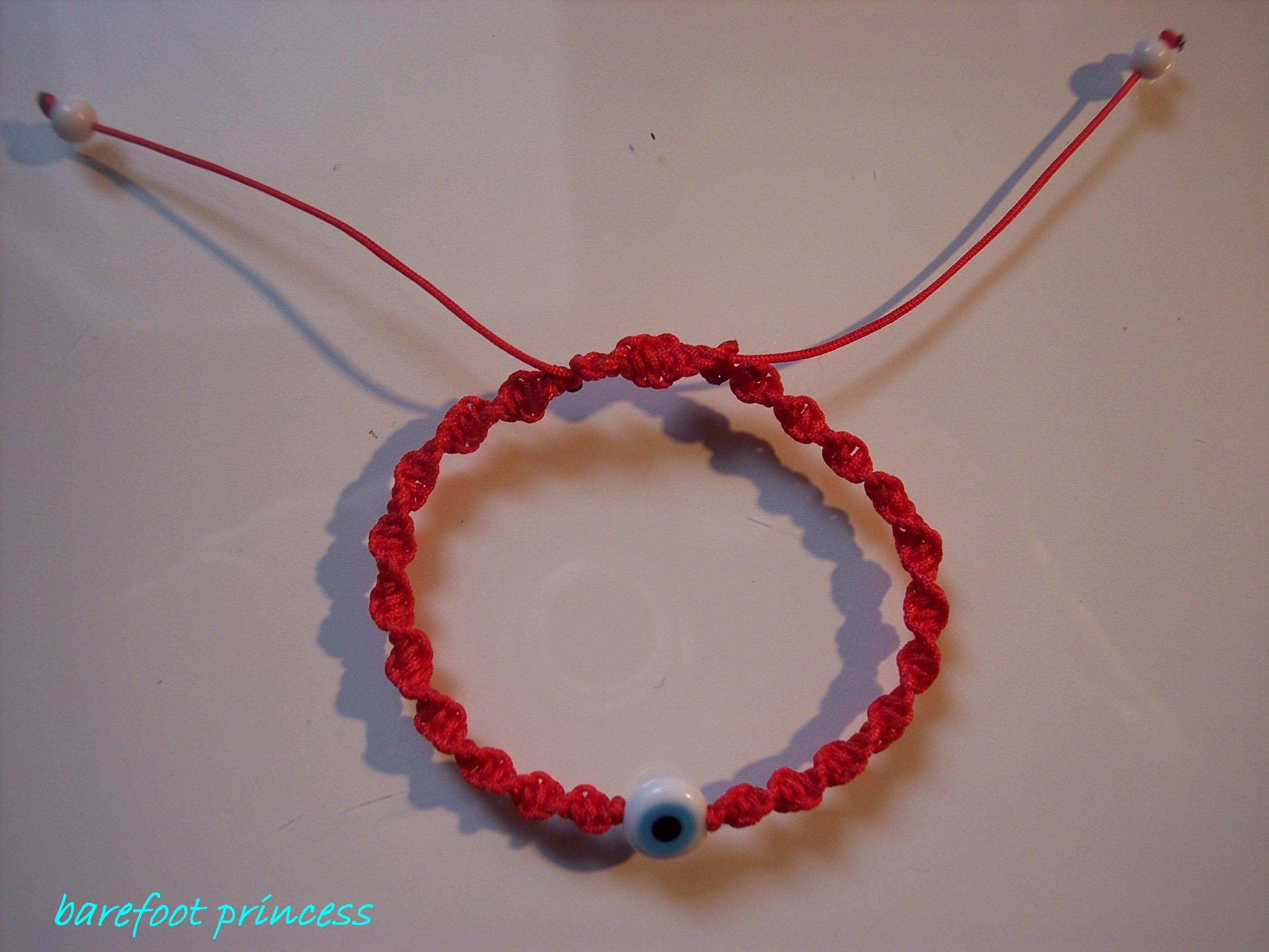 spring charm bracelet, barefoot princess