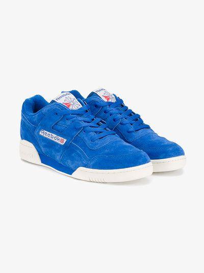 Reebok Blue Suede Workout Plus Vintage