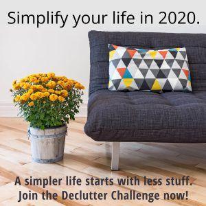 Photo of 2020 Declutter Challenge – Erstellen von Maryshome.com